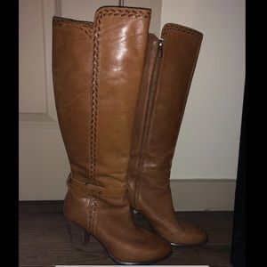Ugg Heeled Boots- Size 8